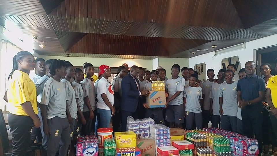 GOC And Ghana Rugby Donate To Black Queens