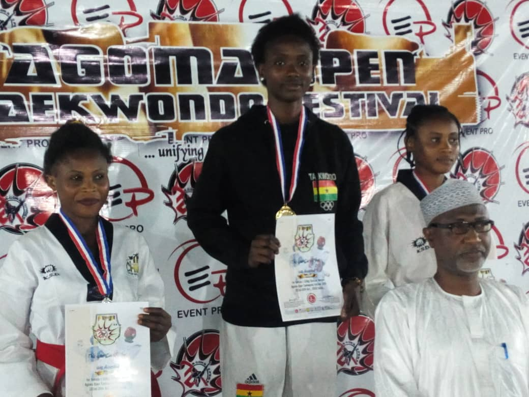 Eunice O. Adedapo Wins Gold For Ghana at the Agoma Open Taekwondo Championships in Nigeria