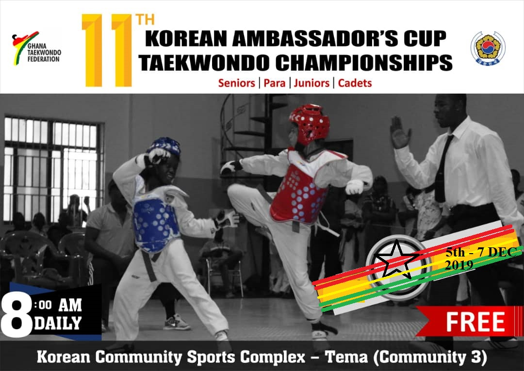 11th Korean Ambassador's Taekwondo Cup Kick Starts At Tema