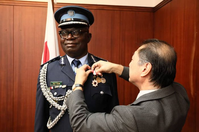 "Chairman of Ghana Judo Association (GJA) gets ""Order of Rising Sun, Gold & Silver Rays"" Award from Japanese Emperor"