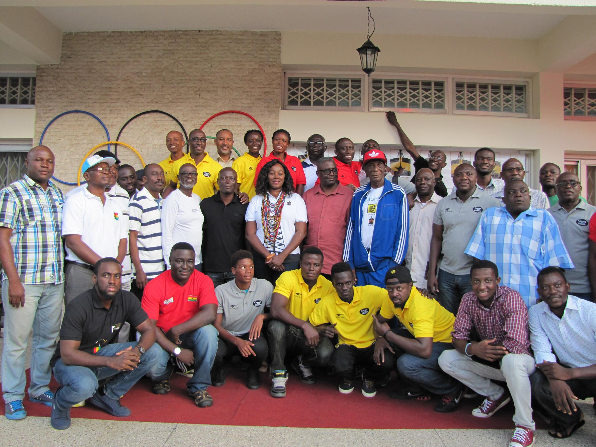 Minister of Sports sends Goodwill Message to Team Ghana