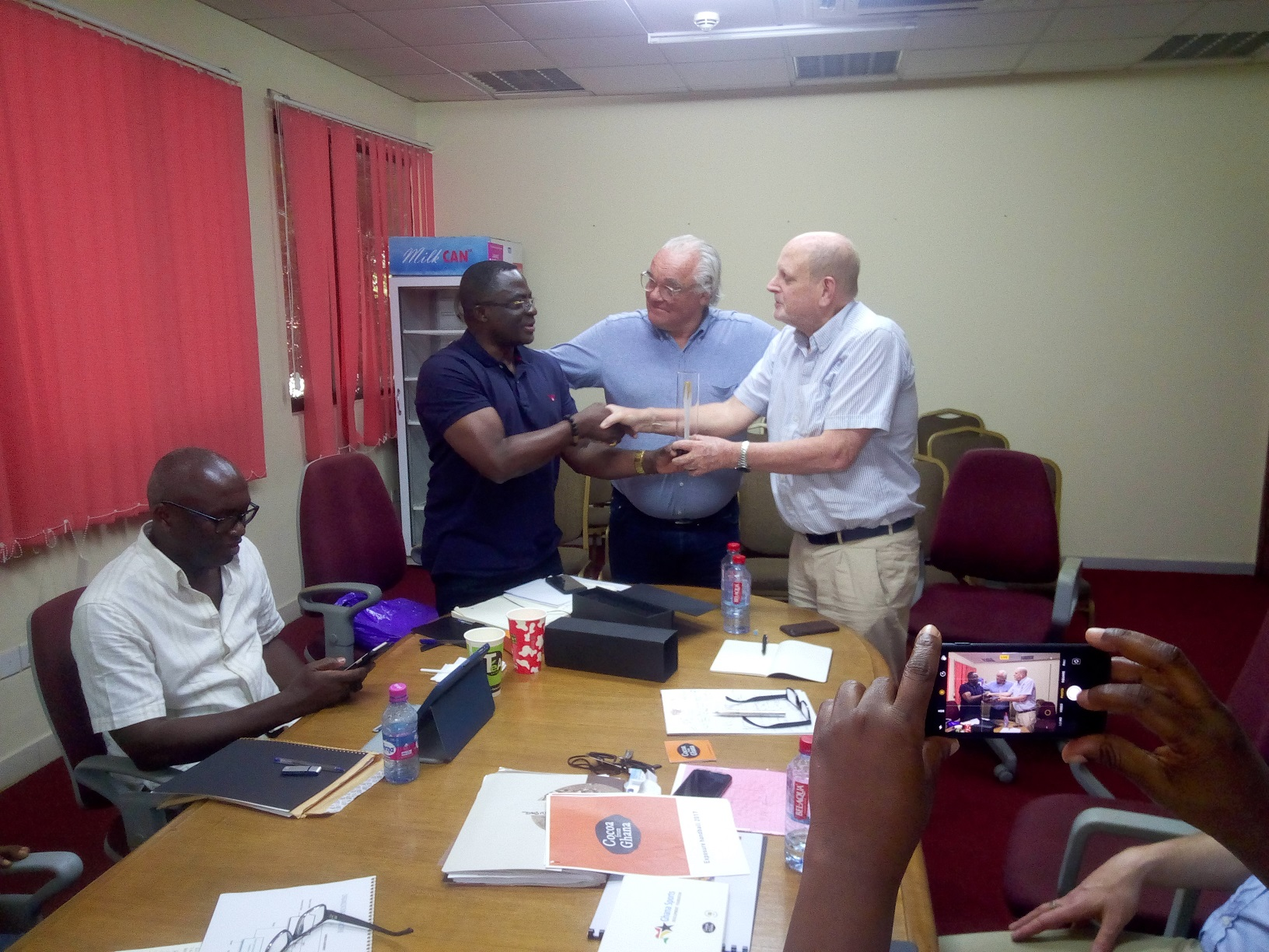 GOC Shows Appreciation To Cocoa From Ghana