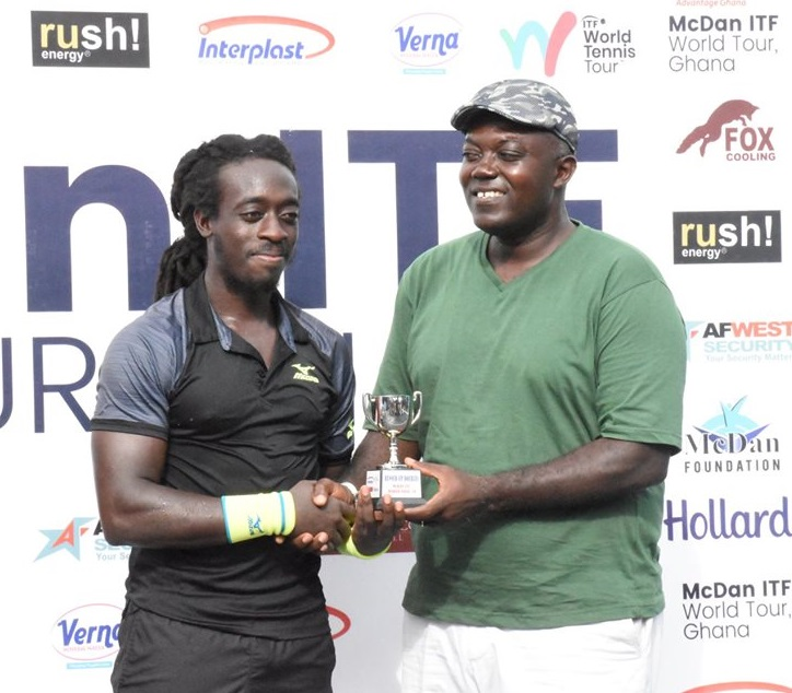 GTF President urges local Tennis players to work hard