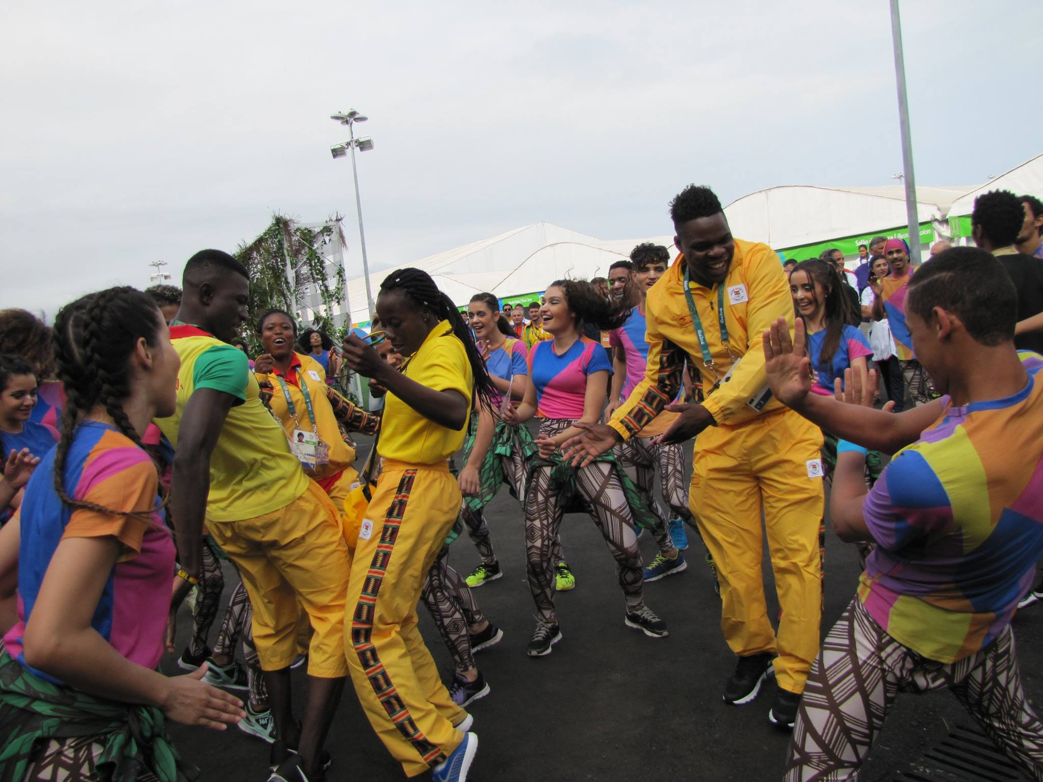 Team Ghana officially welcomed to the Games