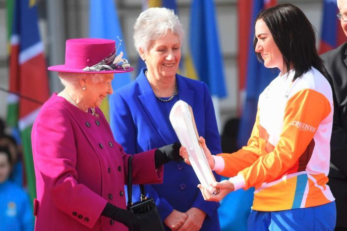Her Majesty The Queen launches Queen's Baton