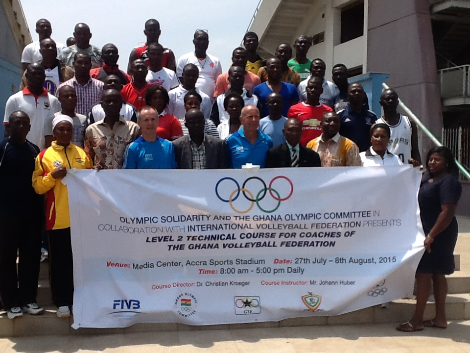 GOC opens Technical Course for Volleyball Coaches