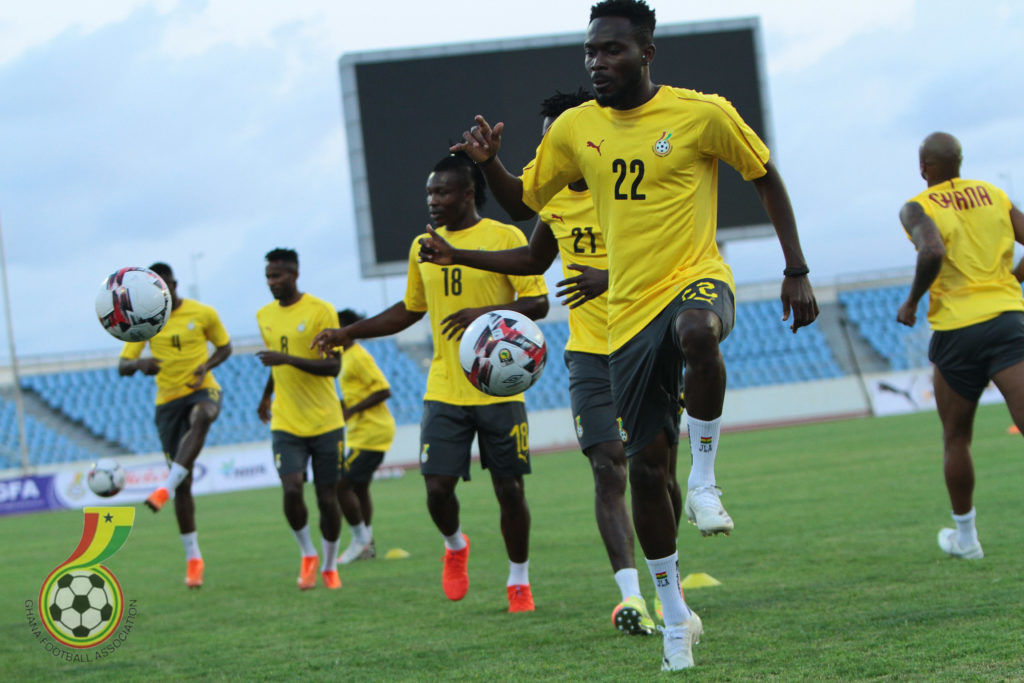 Ghana Black Stars Get Set For Victory Against Sudan