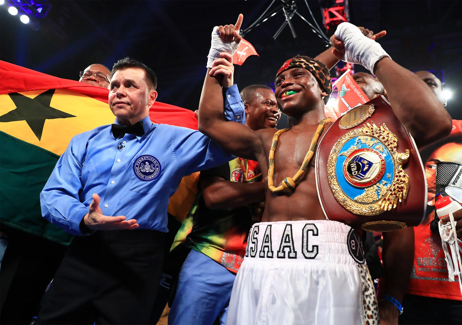 Isaac Dogboe Is Ghana's 9th World Boxing Champion