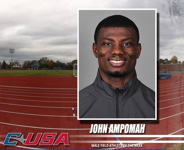 John Ampomah named C-USA Field Athlete of the Year