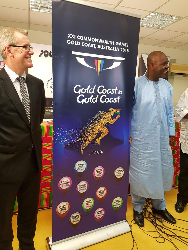 GOC launches XXI CWG Gold Coast 2018