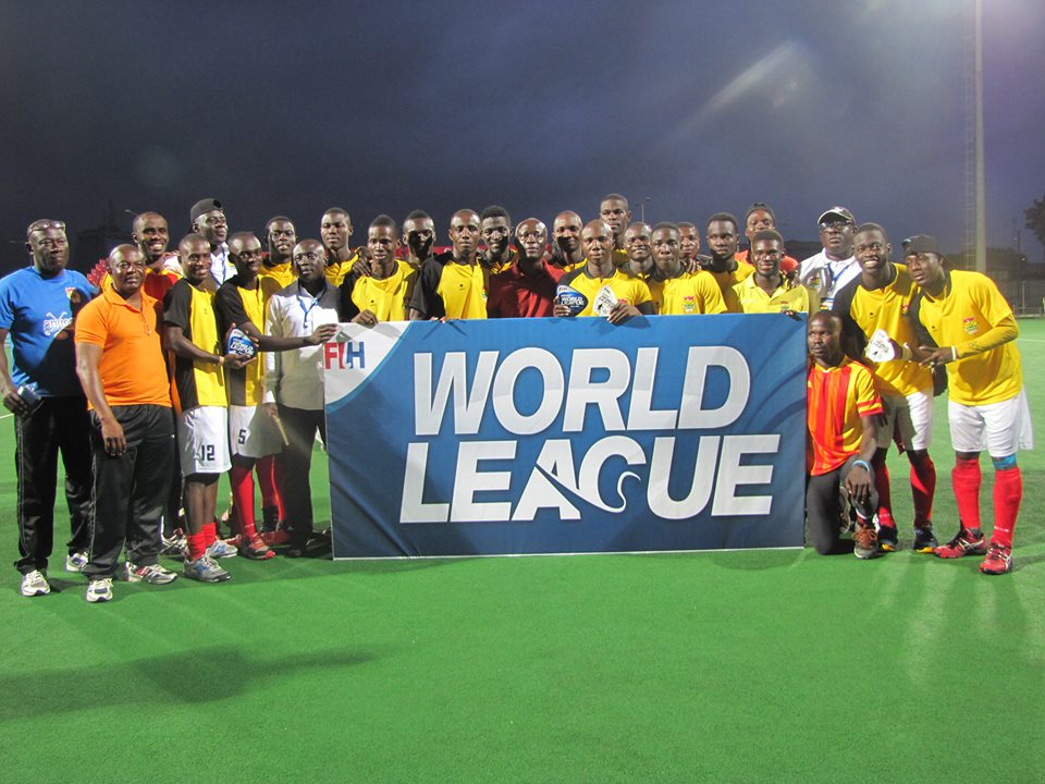 Ghana qualifies for Hockey World League Round 2