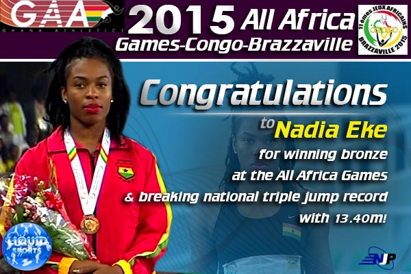 Nadia Eke: National record is going to stand for one season