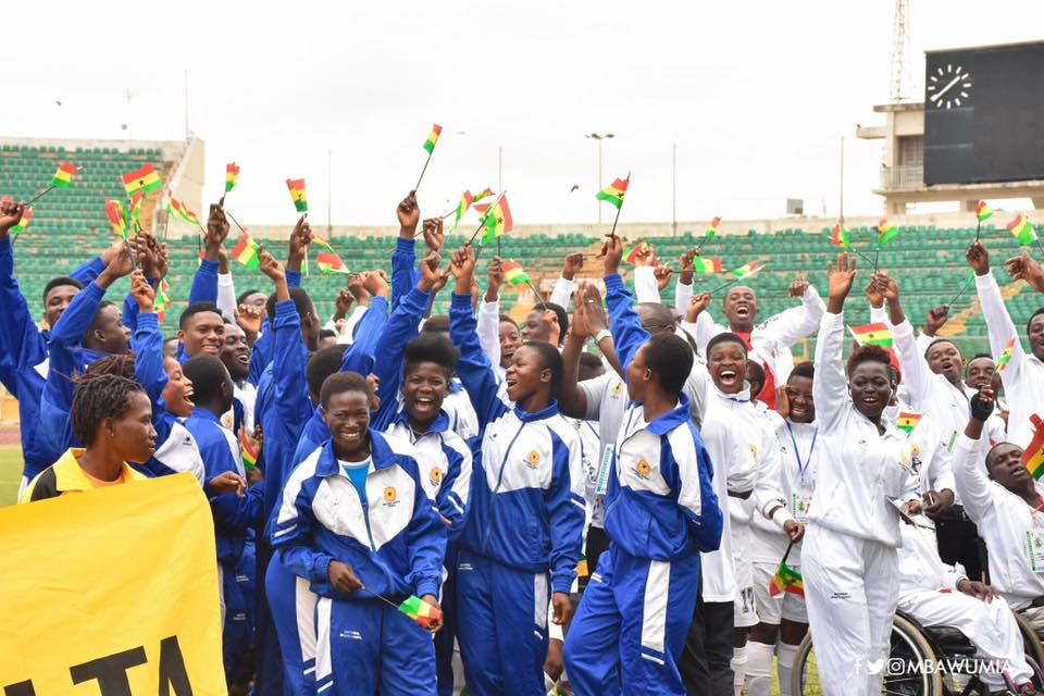 2017 National Sports Festival: Greater Accra Region Are Overall Champions
