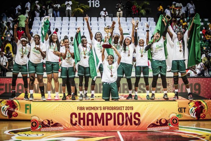 Nigeria Women's Basketball Team qualifies to 2020 Olympics