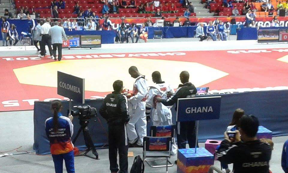 Adjetey proud to have represented Ghana at World Taekwondo Champs