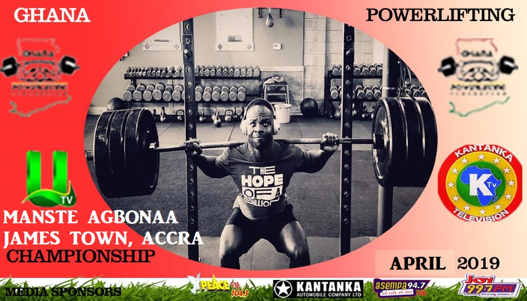 Powerlifting Competition To Shake Manste Agbonaa
