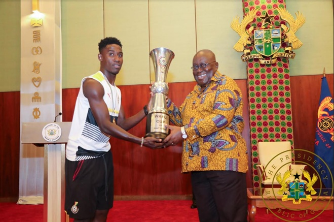 """Black Stars B Have Brought Joy To Ghana"" – President Akufo-Addo"