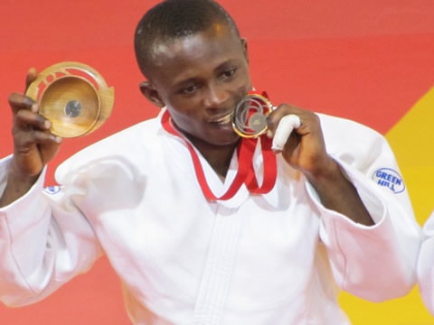 Ghana wins three gold medals in Judo President's Cup