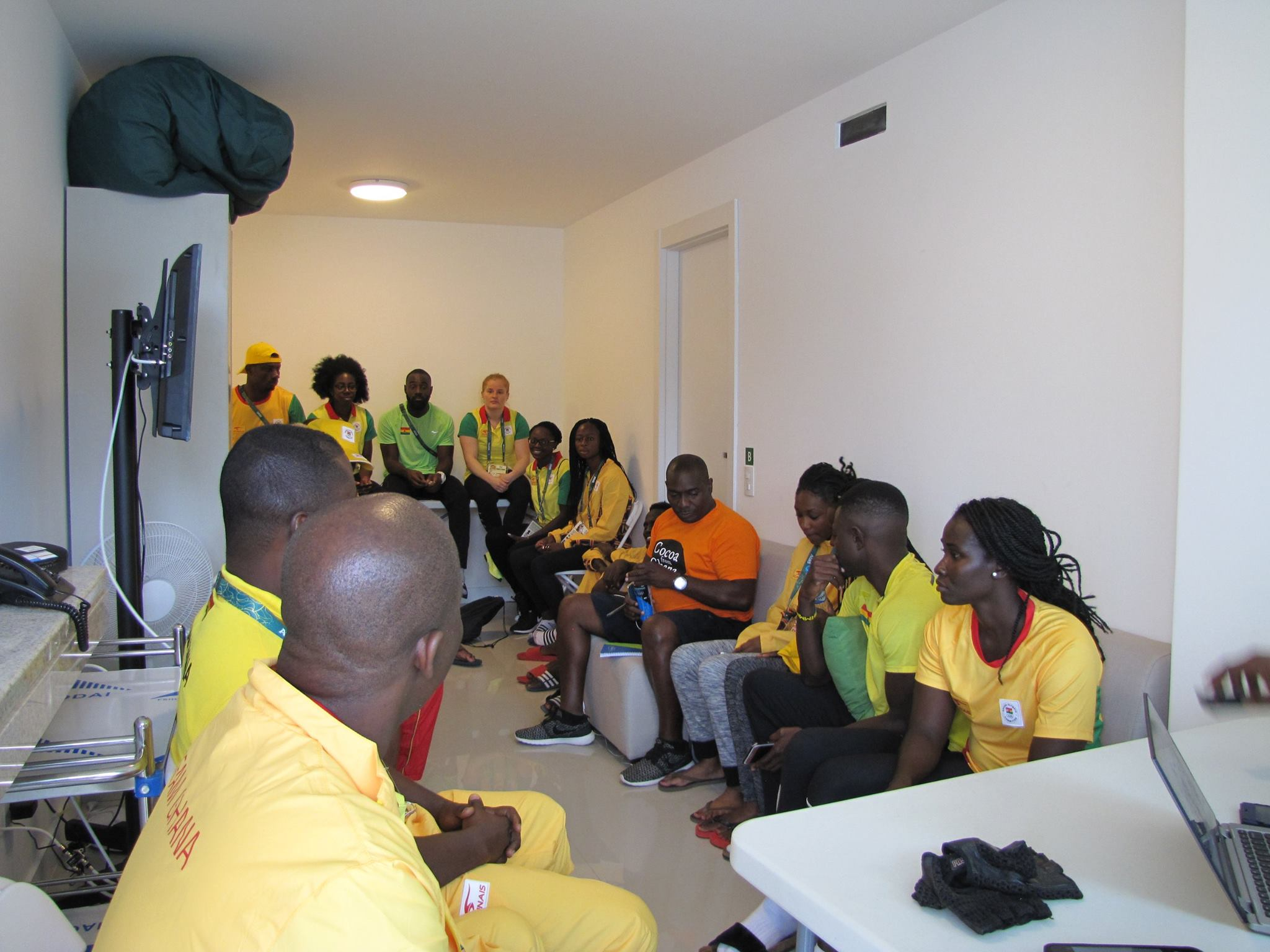 Team Ghana holds maiden meeting at Rio 2016