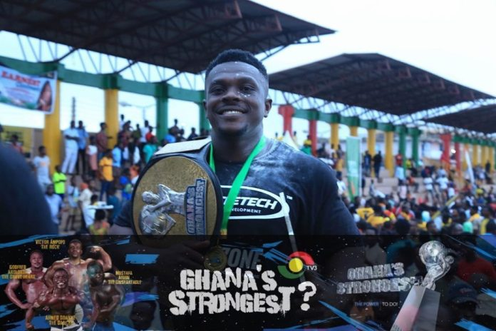 Victor Ampofo wins 'Ghana's strongest' 2019