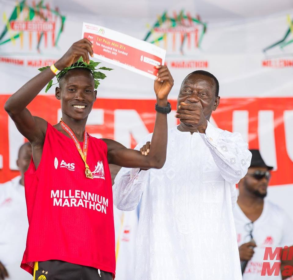 Arthur And Azure Win 2018 Big Millennium Marathon