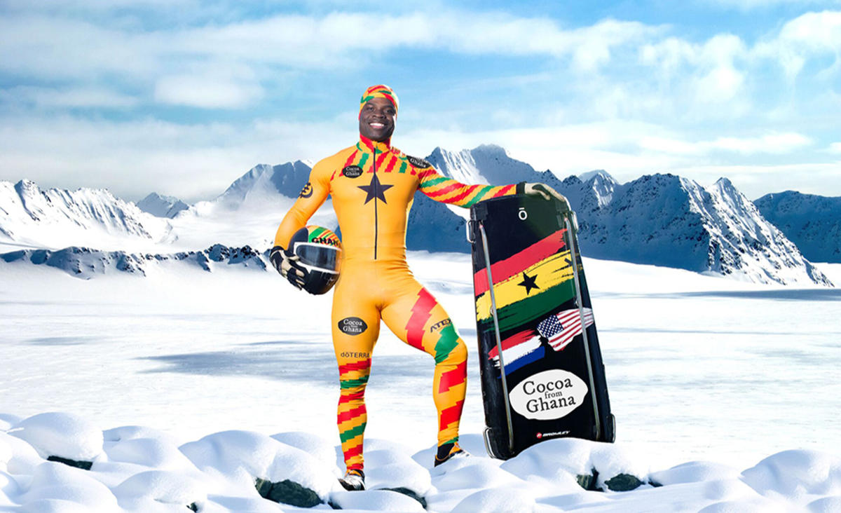 Akwasi Frimpong becomes first W. African male skeleton athlete to compete at Winter Olympics