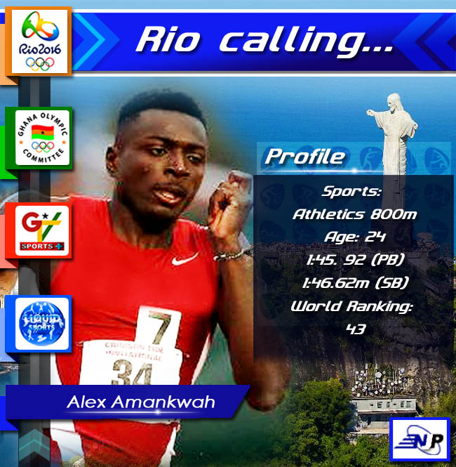Profile 800m runner Alex Amankwah