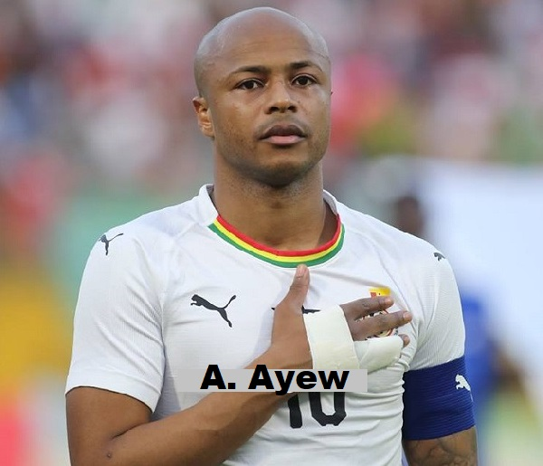 Ghana Football has been retrogressing since 2014 - Andre Ayew Laments