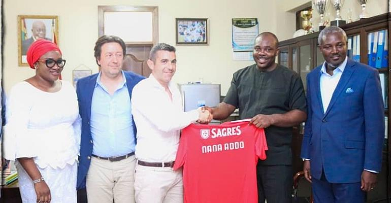 Portuguese Side Benfica Set To Build Soccer Academy In Ghana