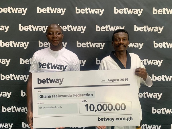 Betway supports Ghana Taekwondo Federation