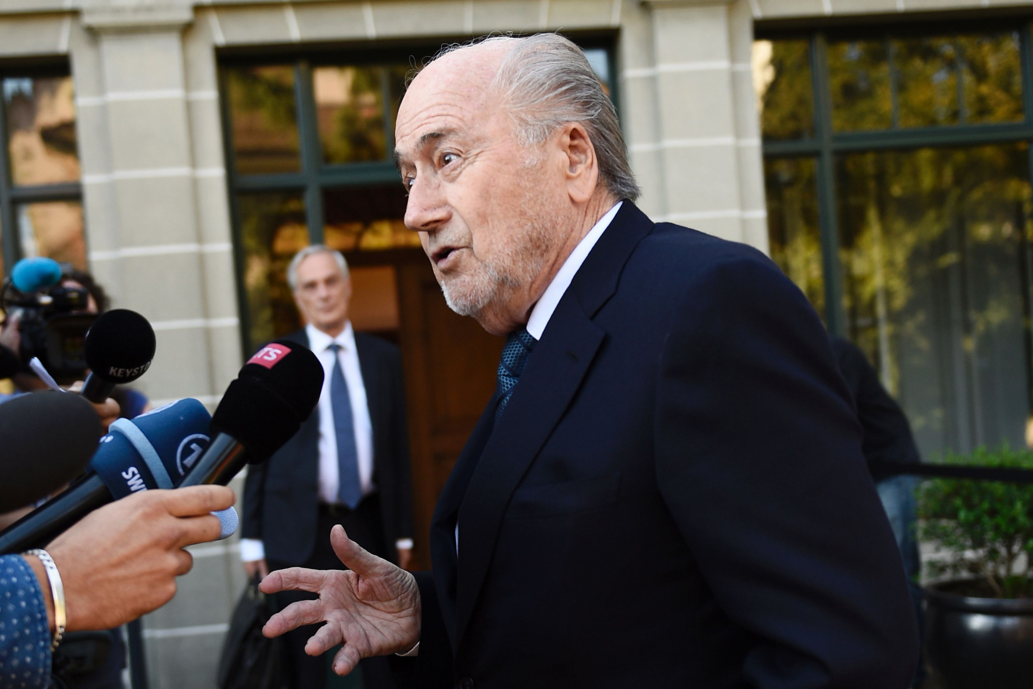 Former President Blatter banned for additional six years by FIFA over financial wrongdoing