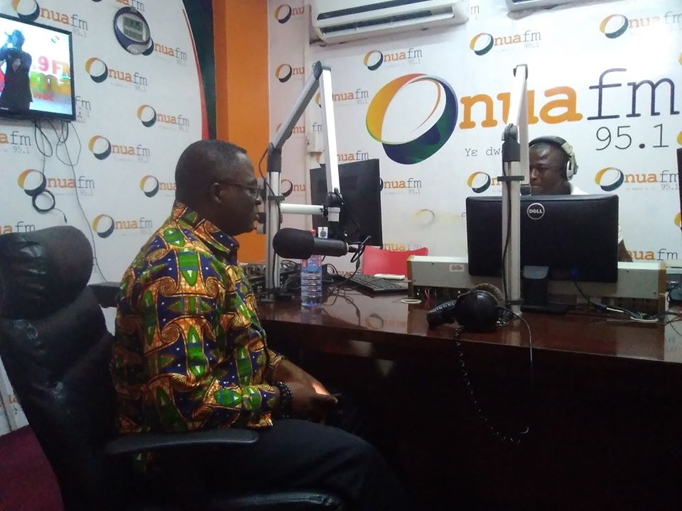 GOC President Visits Onua FM and TV3 (The News Hub)