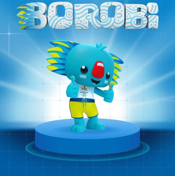 Meet Borobi, your GC2018 Mascot