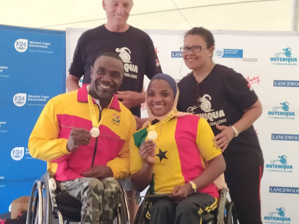 Raphael Botsyo Nkagbe Wins Gold at The OCC Marathon in South Africa