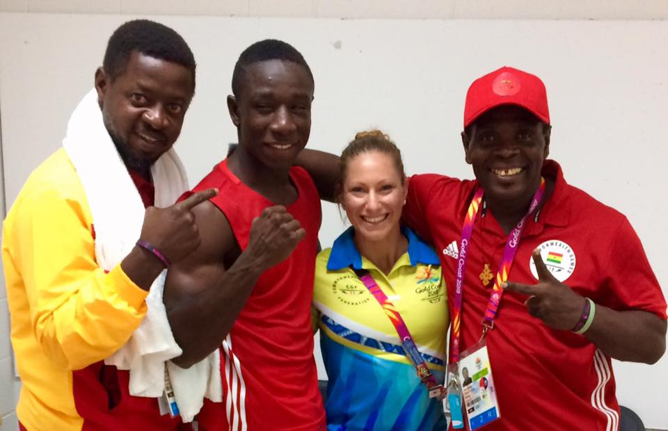 boxing at gc2018