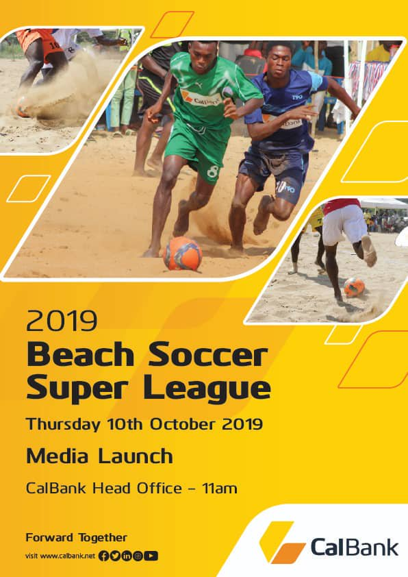 CAL Bank To Announce Sponsorship Renewal For Ghana Beach Soccer Association (GBSA)