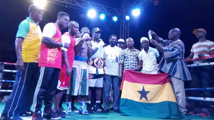 Three Ghanaians Win Three WBO Africa Titles Under Cabic Promotions Bill