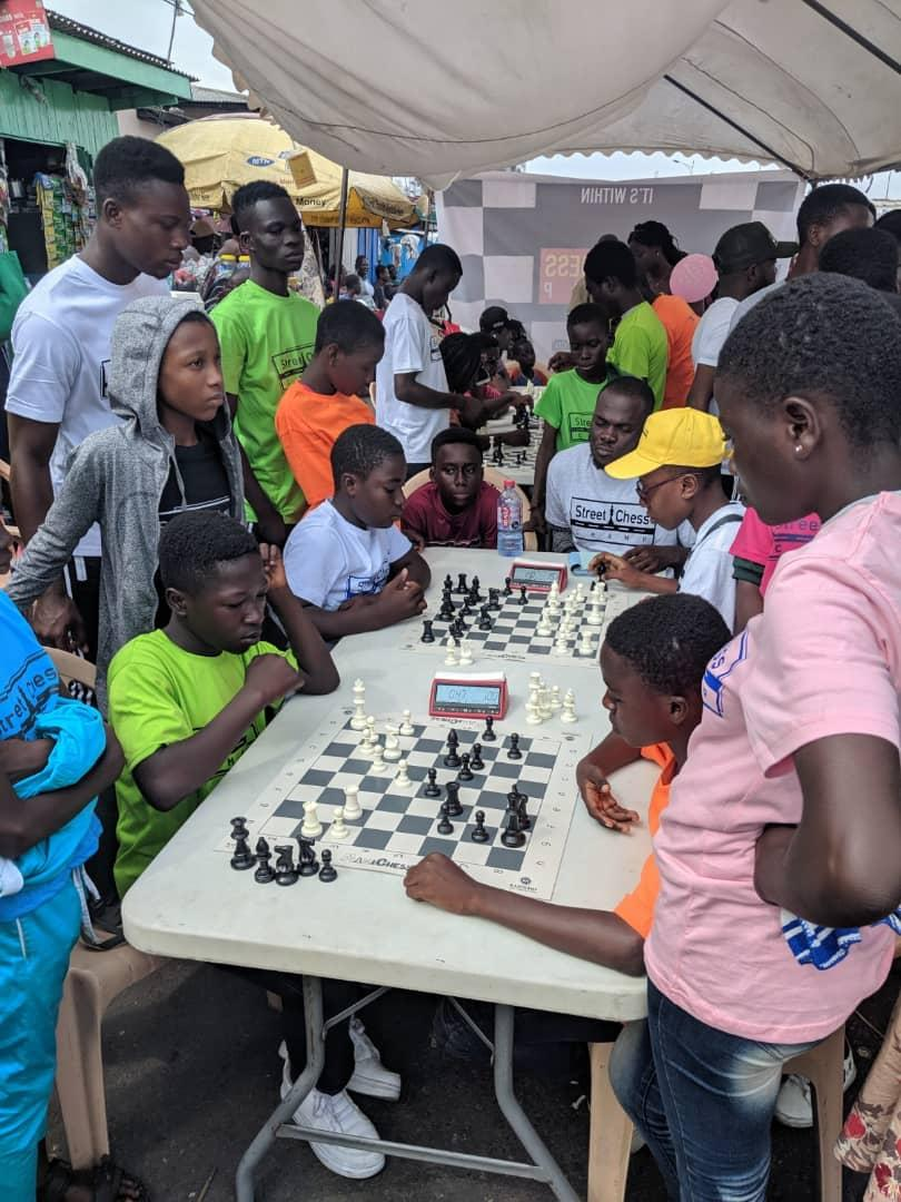 Street Chess Features And Draws Fans At 2019 Chale Wote Street Art Festival At James Town