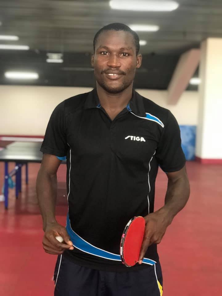 Emmanuel Commey Eyes 2019 SWAG Best Table Tennis Award