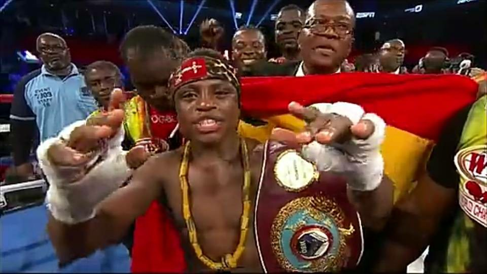 Isaac Dogboe, The Youngest Super Bantamweight Champion In The World