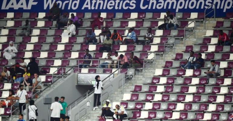 IAAF 'Disappointed' By Small Crowds At World Championships