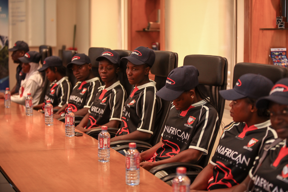 Triumphant Ghana Rugby Women Acknowledges Interplast For Support