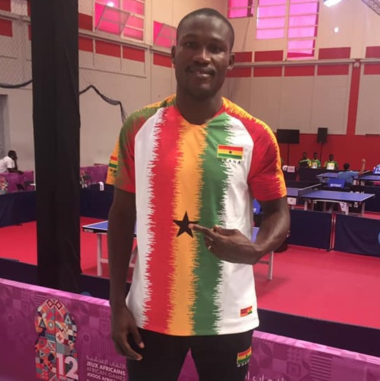 Commey To Represent Ghana At African Table Tennis Top 16 Championship in Abidjan