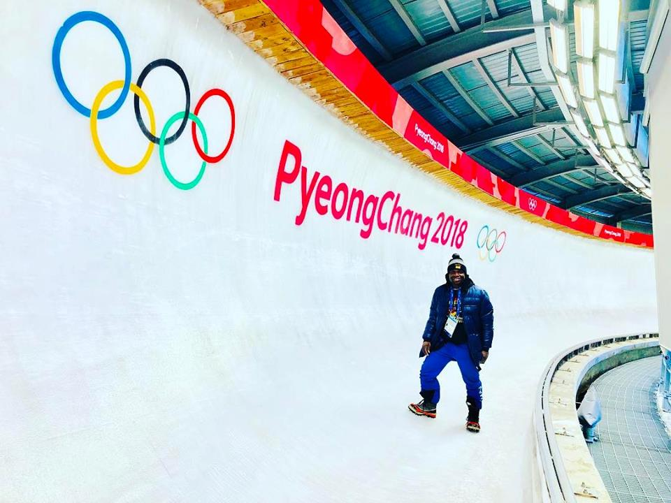 Ghanaians proud of 2018 Winter Games Representative Akwasi Frimpong