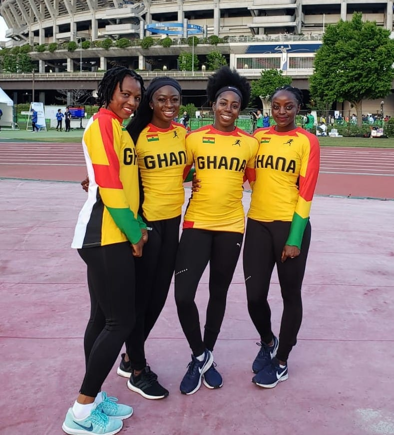 Ghana's Women's Quartet Qualifies For IAAF World Championships In Doha