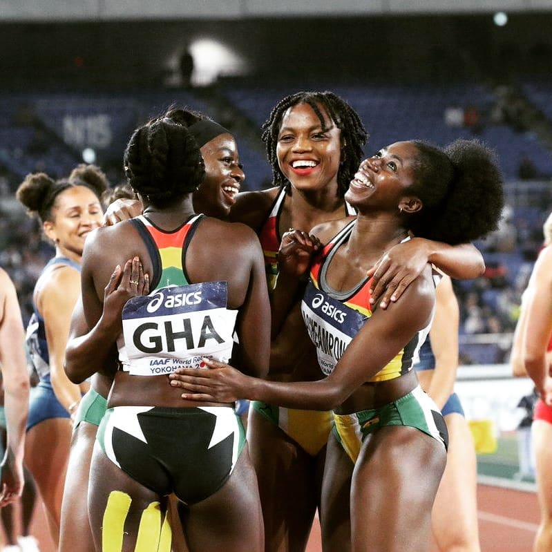 Gemma Acheampong On Her First World Relays