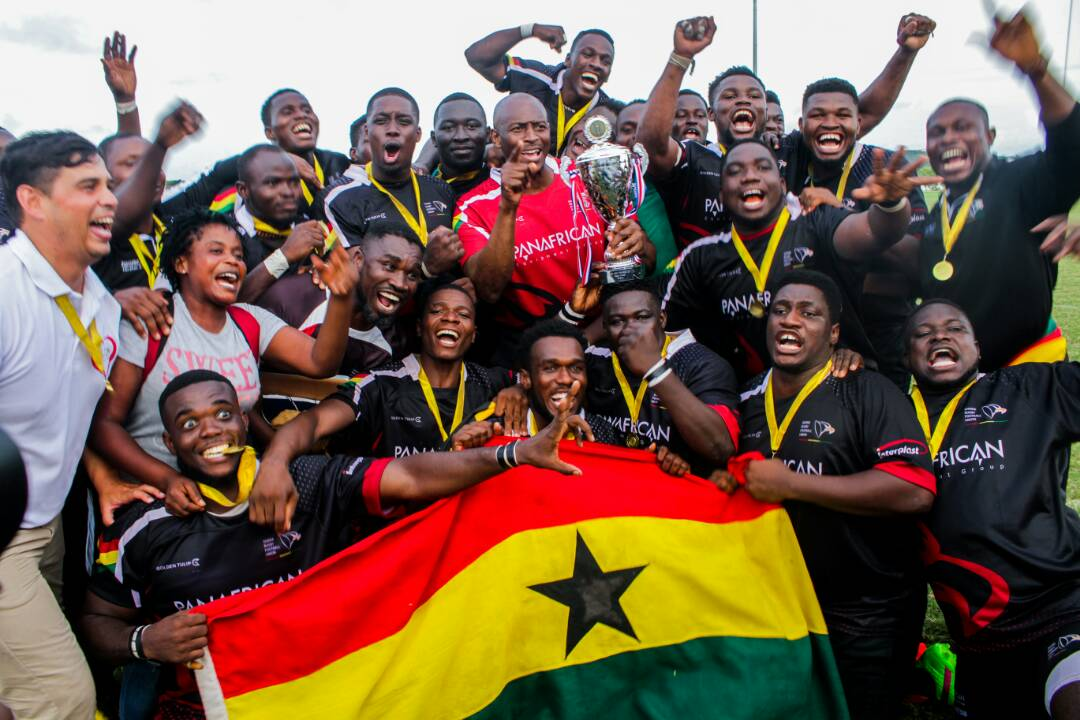 Ghana Eagles lift 2018 Rugby Africa Bronze Cup