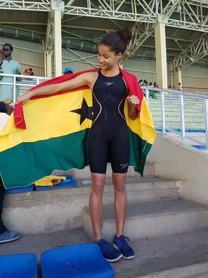 Meet Swimming Queen In The Making - KAYA ADWOA FORSON