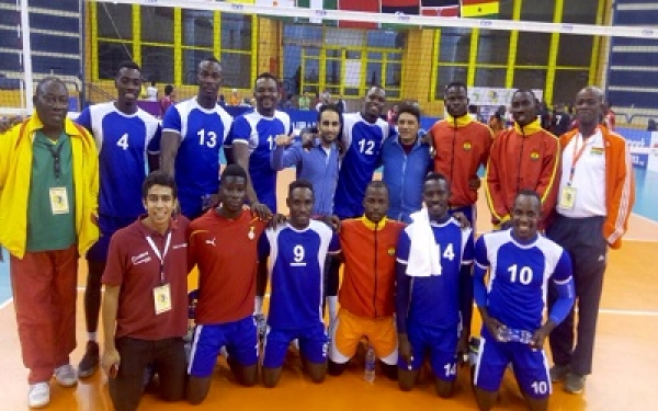 Ghana's Volleyball team to participate in the Olympic Games Qualifier in Egypt