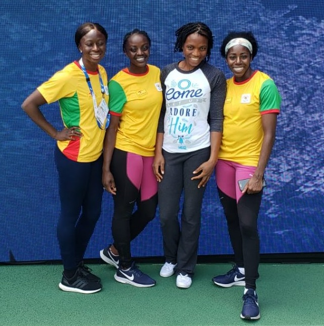 Ghana's Women's 4x100m Qualify For Finals At IAAF World Relays